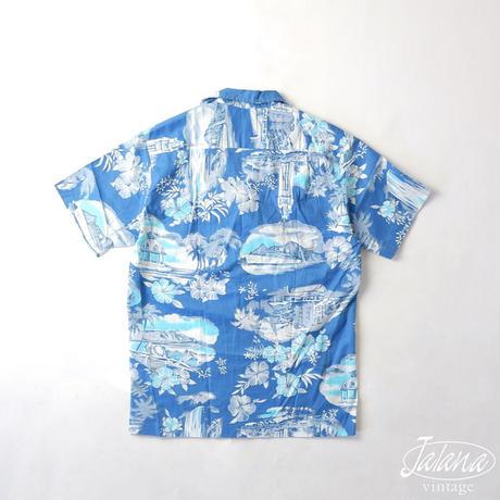 TROPICAL ESSENCE/トロピカルエッセンス  アロハシャツ  Sサイズ(A-179)