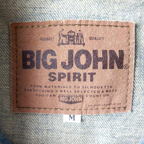 BIG JOHN SPIRIT デニムジャケット Mサイズ (J-031)