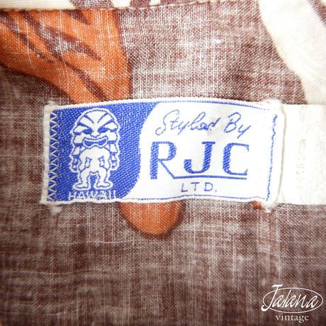 60年代 RJC アロハシャツSサイズ(A-160)