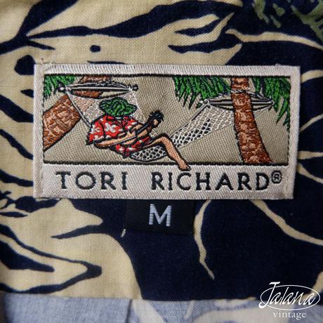 トリリチャード/Tori Richard アロハシャツ Mサイズ(A-193)