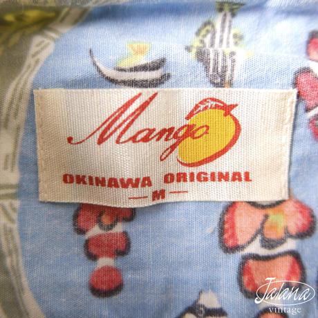 マンゴ/MANGO かりゆしウェア Mサイズ(A-247)