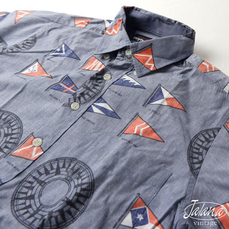 レインスプーナー/reyn spooner アロハシャツSサイズ(A-104)