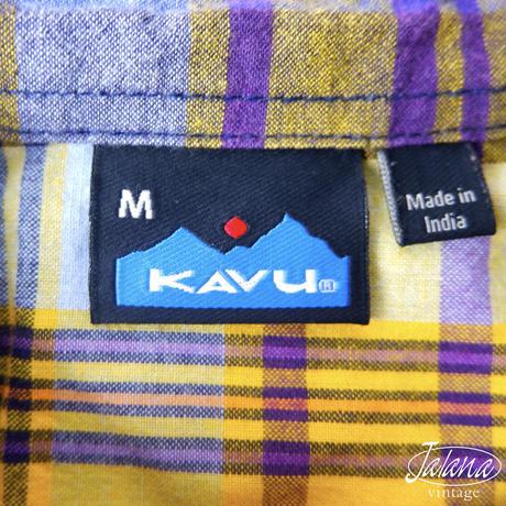 KAVU/カブー  アロハシャツ Mサイズ(A-146)