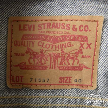 リーバイス/LEVI'S  3rdデニムジャケット サイズ40 (J-030)
