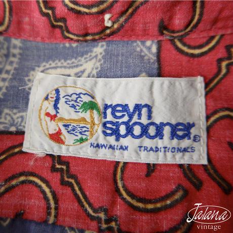 90年代 レインスプーナー/reyn spooner アロハシャツ Mサイズ(A-015)