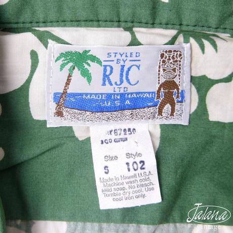 RJC アロハシャツSサイズ(A-087)