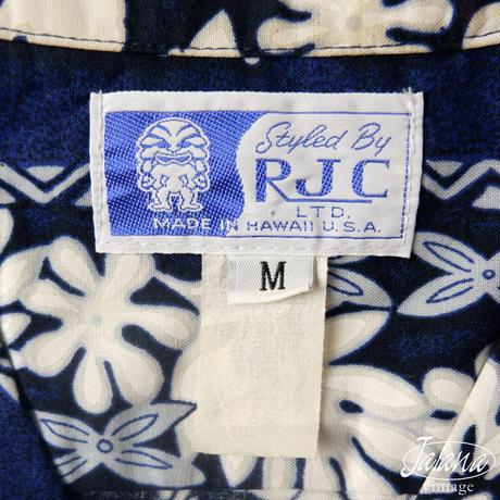 80年代 RJC アロハシャツ Mサイズ(A-206)