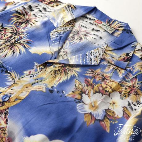 HILO HATTIE THE HAWAIIAN ORIGINAL アロハシャツ  BOY'S XLサイズ(A-141)
