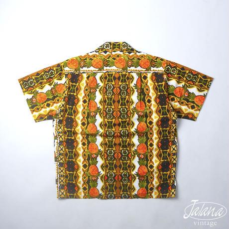 70〜80年代 TROPICANA/トロピカーナ アロハシャツ Mサイズ(A-163)