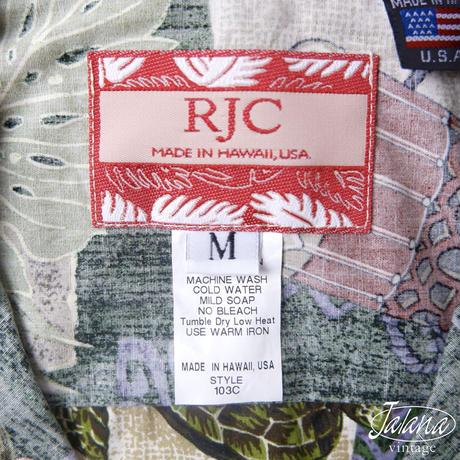 RJC アロハシャツ Mサイズ(A-209)