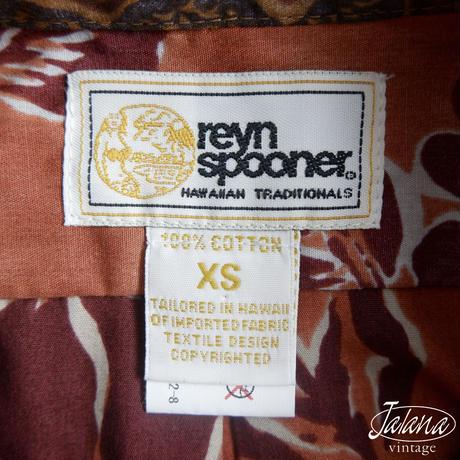 レインスプーナー/reyn spooner アロハシャツ XSサイズ(A-272)