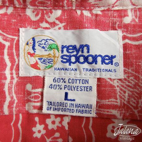 90年代 レインスプーナー/reyn spooner アロハシャツ Lサイズ(A-270)