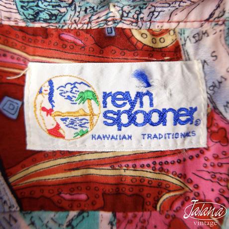 90年代 レインスプーナー/reyn spooner アロハシャツMサイズ(A-148)