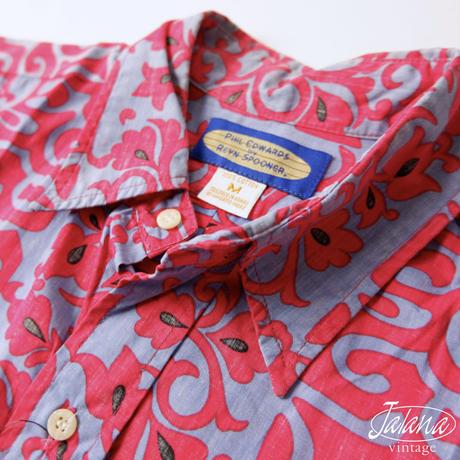 90年代 レインスプーナー/reyn spooner アロハシャツ Mサイズ(A-001)
