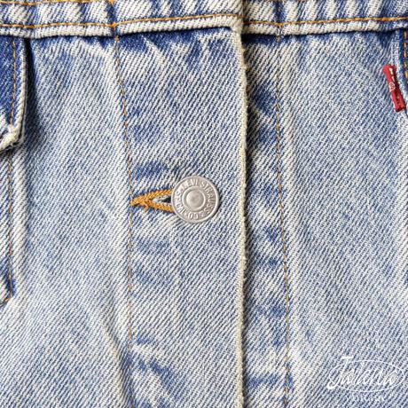 リーバイス/LEVI'S  デニムジャケット LADY'S Mサイズ(J-022)