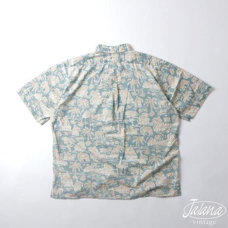 90年代 レインスプーナー/reyn spooner アロハシャツ Lサイズ(A-215)