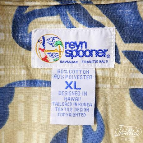 90年代 レインスプーナー/reyn spooner アロハシャツ XLサイズ(A-237)