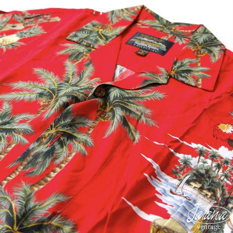 HAWAIIAN RESERVE/ハワイアンリザーブ  アロハシャツ  Sサイズ(A-174)