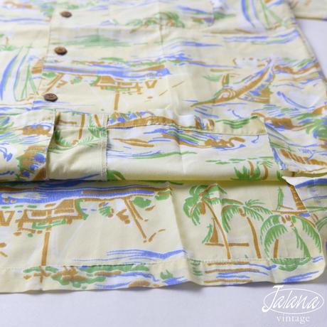 TOM SHORT/トムショート アロハシャツ Mサイズ(A-169)