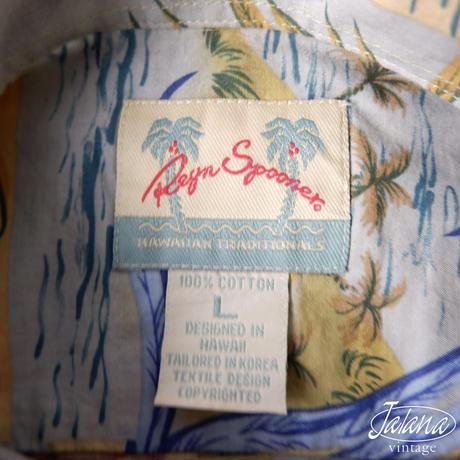レインスプーナー/reyn spooner アロハシャツ Lサイズ(A-011)