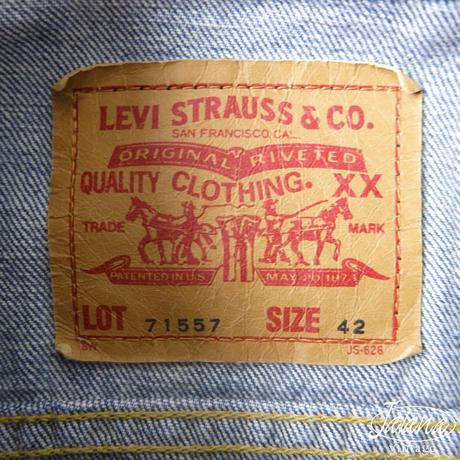 リーバイス/LEVI'S 3rd デニムジャケット サイズ42 (J-024)