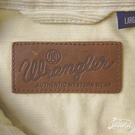 ラングラー/WRANGLER コーデュロイジャケット  Lサイズ(J-034)