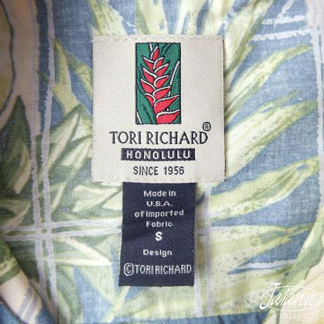トリリチャード/Tori Richard アロハシャツSサイズ(A-128)