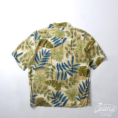 80年~90年代初期 レインスプーナー/reyn spooner アロハシャツ Lサイズ(A-219)