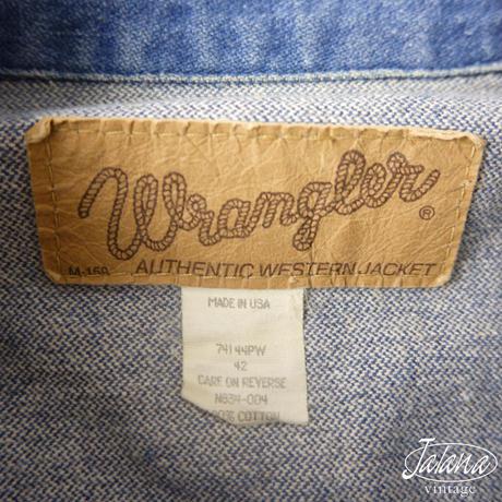 WRANGLER/ラングラー デニムジャケット サイズ42 (J-012)