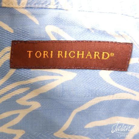 トリリチャード/Tori Richard アロハシャツ Mサイズ(A-196)