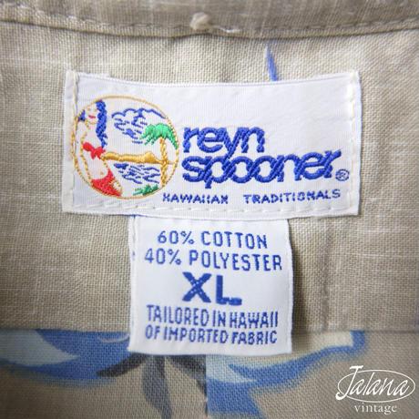 90年代 レインスプーナー/reyn spooner アロハシャツ XLサイズ(A-235)