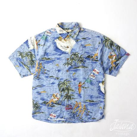 トミーバハマ/Tommy Bahama アロハシャツ Sサイズ(A-181)
