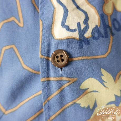 80~90年代初期レインスプーナー/reyn spooner アロハシャツ Mサイズ(A-016)