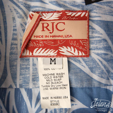 RJC アロハシャツMサイズ(A-061)