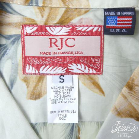RJC アロハシャツ Sサイズ(A-231)