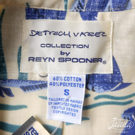 DIETRICH VAREZ COLLECTIOIN レインスプーナー/reyn spooner アロハシャツ Sサイズ(A-192)