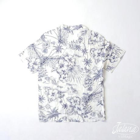 HAWAIIAN ALOHA TROPICAL アロハシャツ  Lサイズ(A-175)