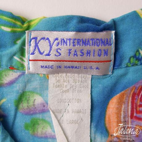 KY'S INTERNATIONAL FASHION アロハシャツ BOY'S XLサイズ(A-207)