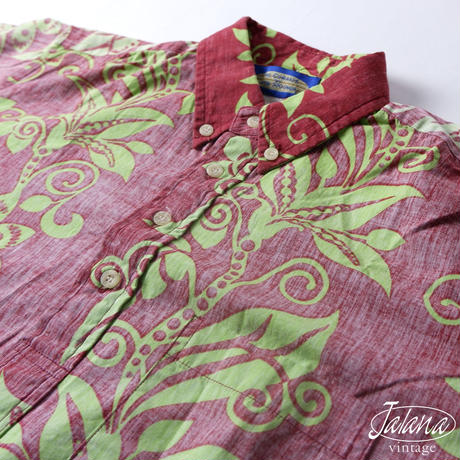 PHIL EDWARDS by Reyn Spooner レインスプーナー/reyn spooner アロハシャツ Mサイズ(A-043)