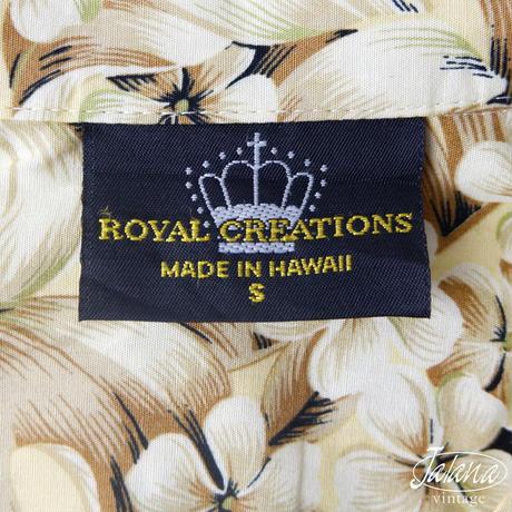 ロイヤル・クリエイションズ/ROYAL CREATIONS アロハシャツ Sサイズ(A-118)