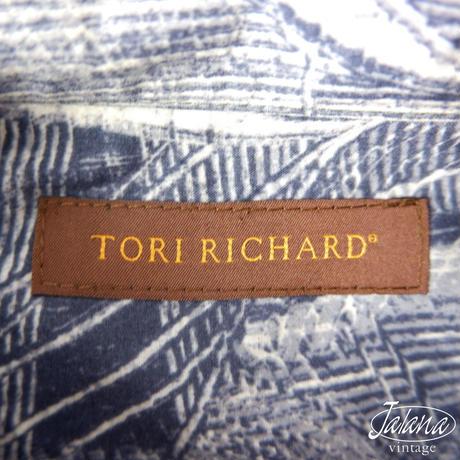 トリリチャード/Tori Richard アロハシャツMサイズ(A-129)