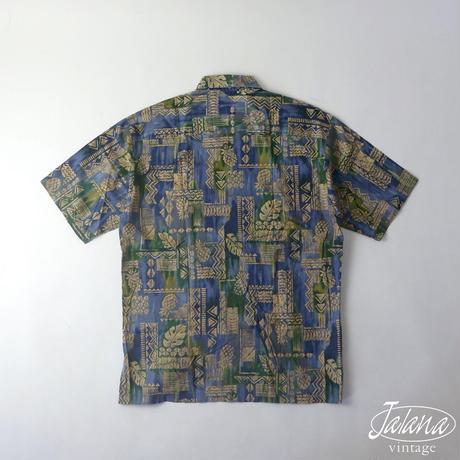 トリリチャード/Tori Richard アロハシャツSサイズ(A-113)