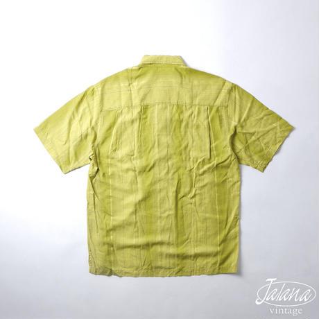 トミーバハマ/Tommy Bahama アロハシャツ Mサイズ(A-190)