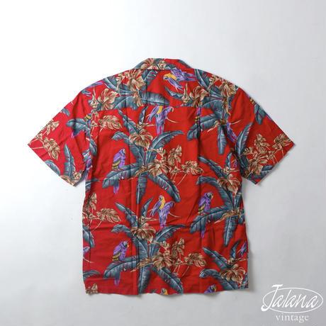90年代 パラダイスファウンド/PARADISE FOUND アロハシャツ Mサイズ(A-244)