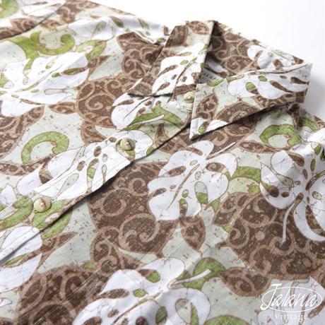 マカプー/MAKAPUU  アロハシャツ Mサイズ(A-117)
