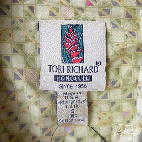 トリリチャード/Tori Richard アロハシャツ Sサイズ(A-203)