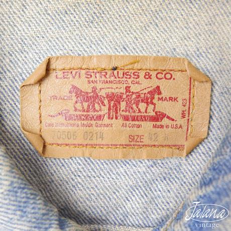 リーバイス/LEVI'S デニムジャケット サイズ42 (J-017)