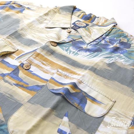 トミーバハマ/Tommy Bahama アロハシャツ Mサイズ(A-178)
