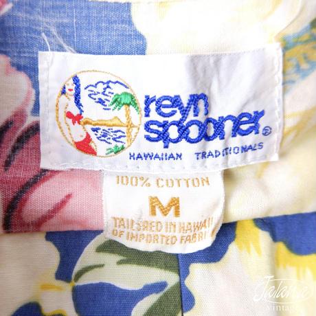 90年代レインスプーナー/reyn spooner アロハシャツMサイズ(A-035)