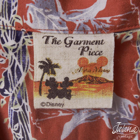THE GARMENT PIECE DISNEY アロハシャツ Mサイズ(A-254)